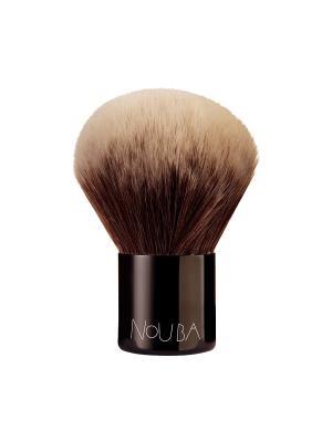 Кисть кабуки Kabuki Brush NOUBA. Цвет: коричневый