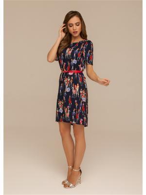 Платье летнее из искусственного шелк-шифона ORHIDEA