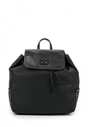 Рюкзак Roccobarocco. Цвет: черный
