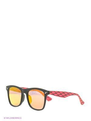 Солнцезащитные очки KEDDO. Цвет: красный