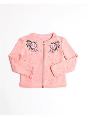 Жакет Mark Formelle. Цвет: розовый, бледно-розовый, персиковый