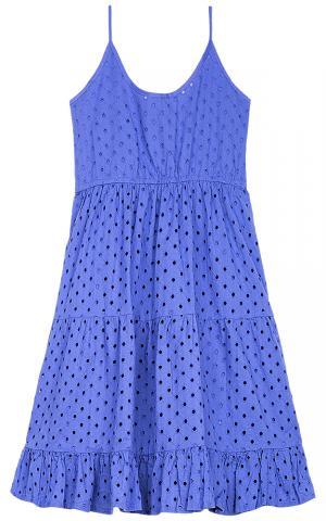 Синее платье La Reine Blanche