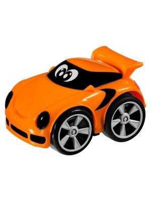 Машинка Turbo Team Stunt Richie Road CHICCO. Цвет: оранжевый