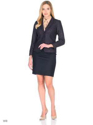Пиджак Small & Tall. Цвет: темно-фиолетовый