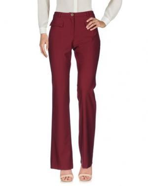 Повседневные брюки DENNY ROSE. Цвет: красно-коричневый