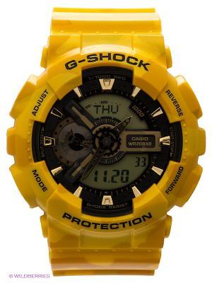 Часы G-SHOCK GA-110CM-9A CASIO. Цвет: желтый