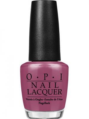 Opi Лак для ногтей Just Lanai-ing Around, 15 мл. Цвет: сливовый