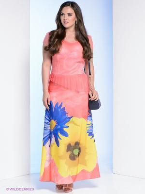 Сарафан Milana Style. Цвет: коралловый