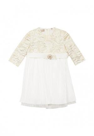 Платье Смена. Цвет: белый