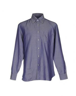 Pубашка LEXINGTON. Цвет: синий