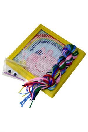 Набор для вышивания Радуга Peppa Pig. Цвет: голубой