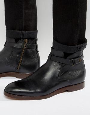 Hudson London Замшевые ботинки Cutler Jodphur. Цвет: рыжий