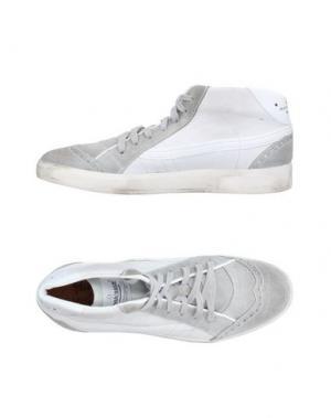 Высокие кеды и кроссовки PRIMABASE. Цвет: светло-серый