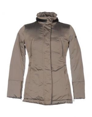 Куртка DEK'HER. Цвет: хаки