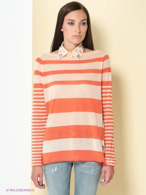 Джемпер PINKO. Цвет: персиковый, оранжевый