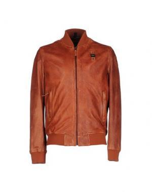 Куртка BLAUER. Цвет: коричневый