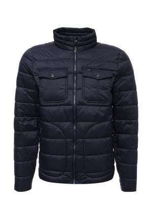 Куртка утепленная Lee. Цвет: синий