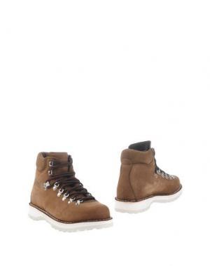 Полусапоги и высокие ботинки DIEMME. Цвет: какао