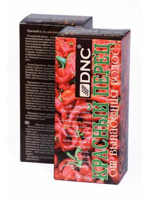 Маска Красный перец для волос от выпадения, набор из 2 шт, 100 гр DNC. Цвет: бледно-розовый