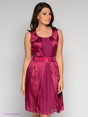 Платье Stilla. Цвет: фиолетовый