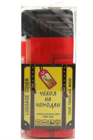 Чехол на чемодан SOVA COVER. Цвет: телефонная будка