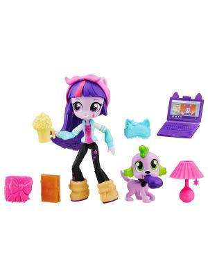 Мини-кукла Hasbro. Цвет: фиолетовый