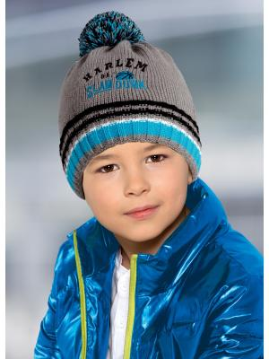 Шапка детская ESLI. Цвет: серый
