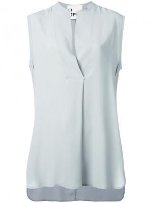 Рубашка без рукавов 8pm. Цвет: серый
