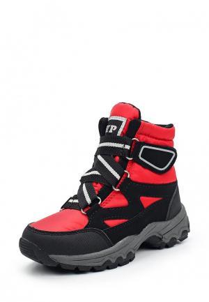 Ботинки Patrol. Цвет: красный