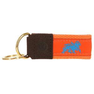 Ключница  Needle Point Keychain Orange Stussy. Цвет: оранжевый