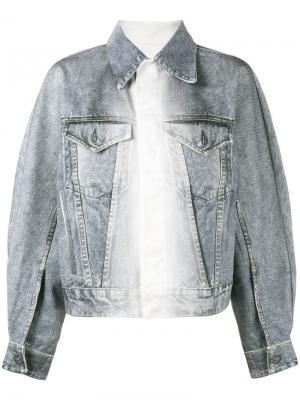 Свободная джинсовая куртка Faustine Steinmetz. Цвет: синий