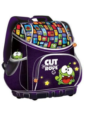 Ранец Smart bag Cut the Rope, жесткий каркас EVA Rope. Цвет: фиолетовый