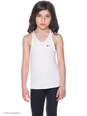 Топ ADVANTAGE COURT TANK YTH Nike. Цвет: белый