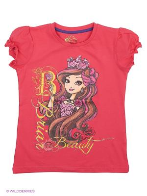 Футболка Ever after High. Цвет: фуксия