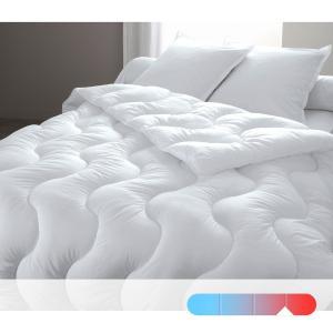 Одеяло синтетическое с чехлом из натурального материала, качество люкс REVERIE BEST. Цвет: белый