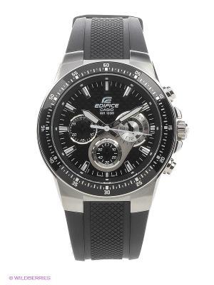 Часы EDIFICE EF-552-1A CASIO. Цвет: черный, серебристый