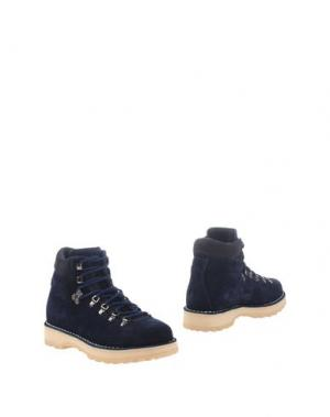 Полусапоги и высокие ботинки DIEMME. Цвет: темно-синий