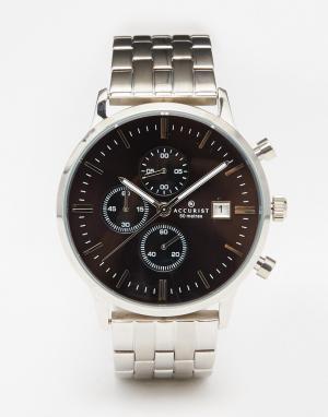 Accurist Серебристые часы из нержавеющей стали Contemporary. Цвет: серебряный