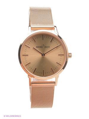 Часы MANFRED CRACCO. Цвет: бледно-розовый