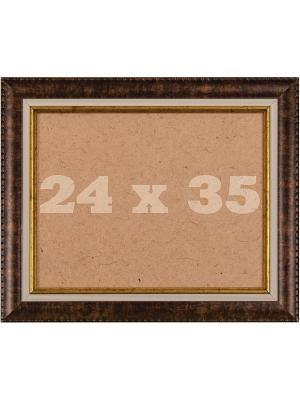 Рамка багетная р.24/35 Матренин Посад. Цвет: коричневый