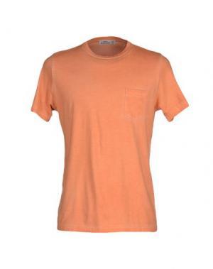 Футболка FABIO MODIGLIANI. Цвет: оранжевый