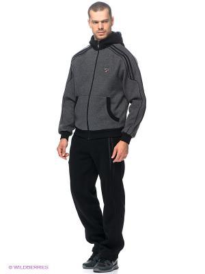 Спортивный костюм RED-N-ROCK'S. Цвет: черный, серый