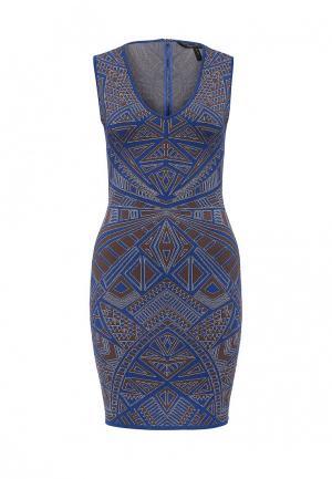 Платье BCBGMaxAzria. Цвет: синий