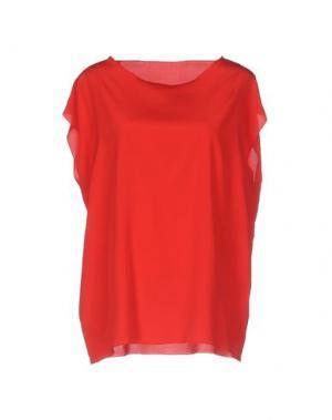 Блузка ANNECLAIRE. Цвет: красный