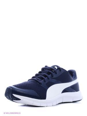 Кроссовки Flexracer Puma. Цвет: синий, белый