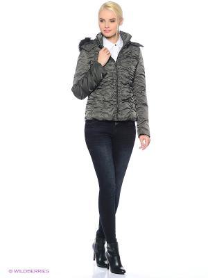 Куртка Gaudi. Цвет: темно-серый