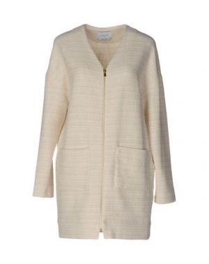 Легкое пальто AXARA PARIS. Цвет: слоновая кость