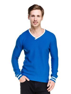 Пуловер VipDressCode. Цвет: синий