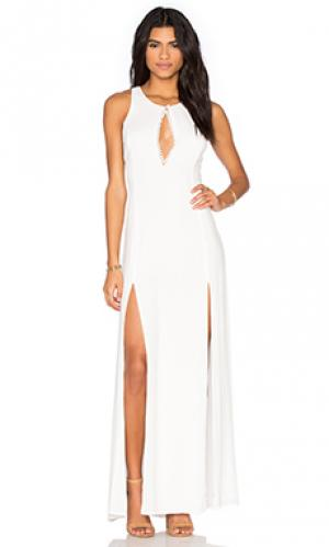 Вечернее платье owen STONE_COLD_FOX. Цвет: белый