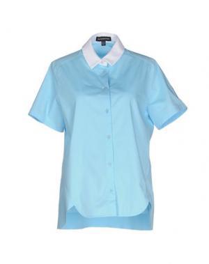Pубашка OSTWALD HELGASON. Цвет: небесно-голубой